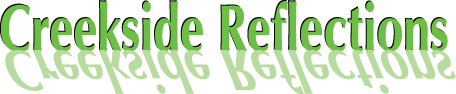 The Creekside Reflections Logo